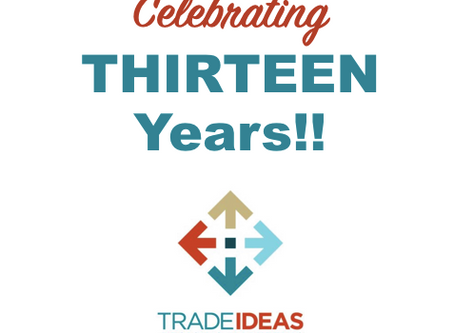 Trade Ideas Celebrates 13 Years of Design and Marketing