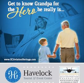 Eastern Carolina Aviation Heritage Foundation Magazine Ad