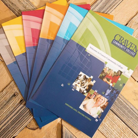 Marketing Materials for Craven Community College
