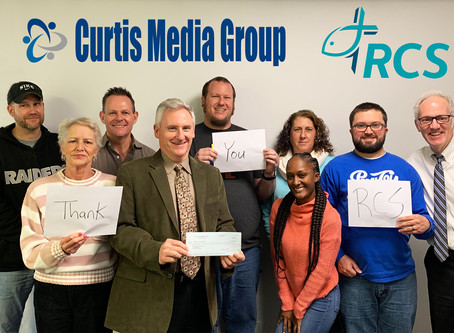 Curtis Media Group Donates $20,000 To Hurricane Florence Relief Efforts In Eastern North Carolina