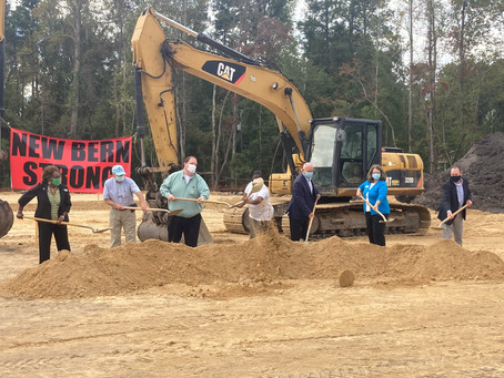 Officials break ground on new affordable apartments