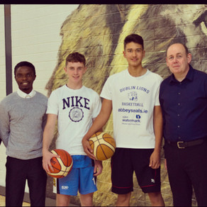 Basketball Ireland Supports Year 2 of Student-Athlete Mentoring Project with Innumeris Education!