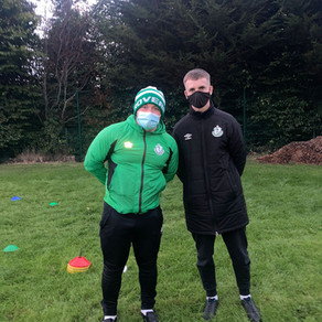 Year 2 of Innumeris Kicks off with a day of Shadowing Shamrock Rovers' Athletic Therapist!
