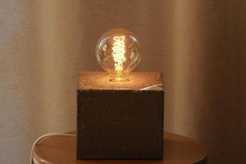 Beton Design Lampe
