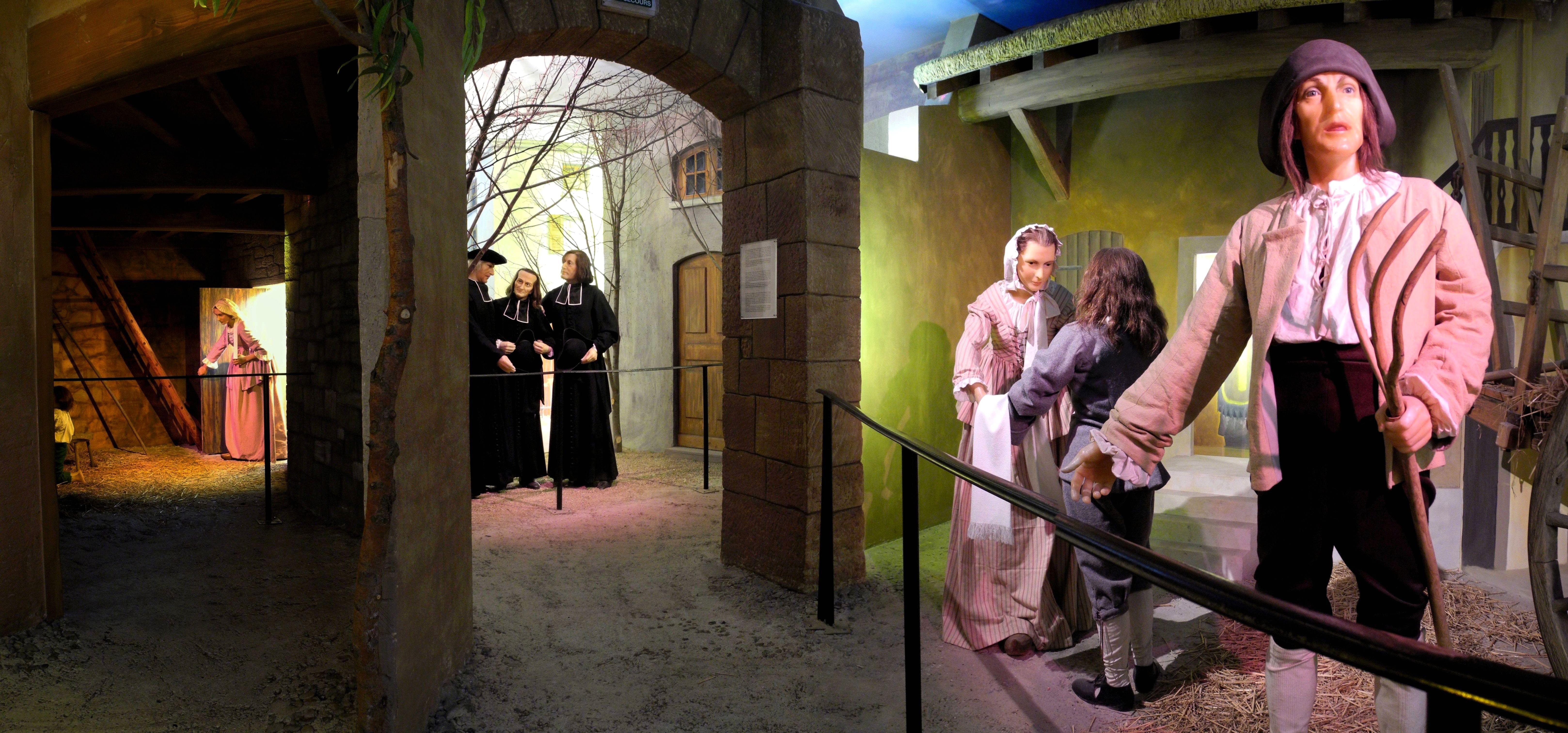 Musée de Cire, la Vie du Saint Curé