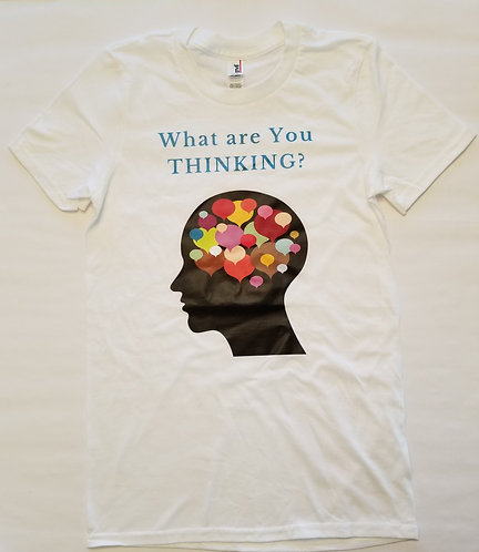What are You Thinking T-Shirt - White