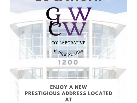 Taking Your Business to a New Level? Us too with our new location!
