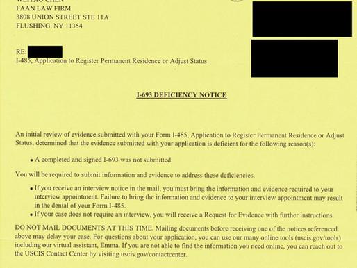 如何处理绿卡申请过程中收到体检报告缺件通知?