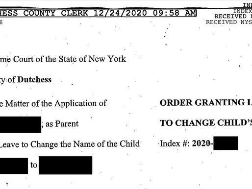 在美国如何给小孩改名?