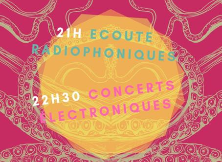 24/11 : Plongées sonores avec L'Armande!