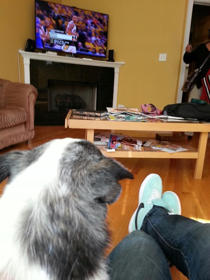 Watching Sports