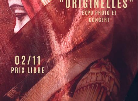 """02/11 : Soirée de clôture de l'exposition """"Originelles"""" et concert de Mólo Sâyat"""