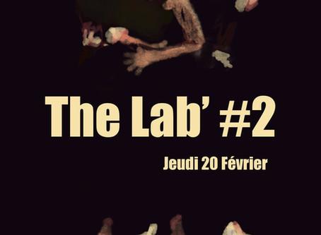 20/02: The Lab' #2 : Scène ouverte expérimentale