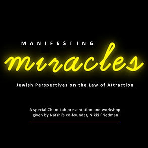 Manfesting Miracles, The Law of Attraction
