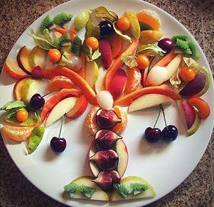 Tu BShvat Fruit Platter Tree.JPG