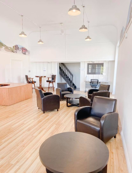 Co-working space at The Hub