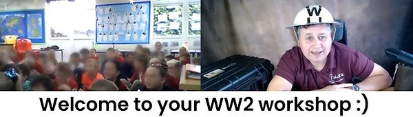 ww2 zoom workshop for primary schools