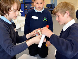 Key stage 2 rockets forces primary science workshop