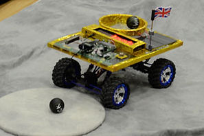 moon rover used in our primary school science workshop