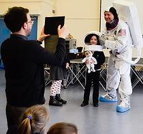 spaceman in your school workshop