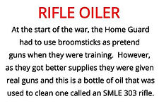 rifle oiler from our WW2 artefacts box for primary schools