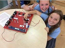 making electrical circuits in primary sc