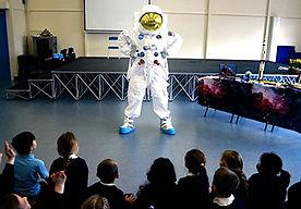 key stage 1 and key stage 2 spaceman school workshop