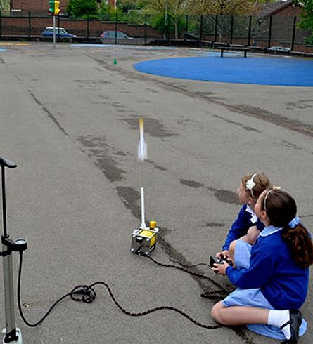 firing rockets in a year 5 space race wo