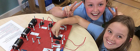 electricity year 4 and year 6 primary science workshop using circuit boards