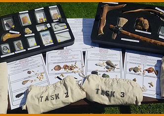 stone age primary school topic resource box