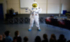 a spaceman primary school workshop