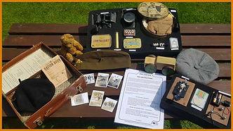 WW2 primary school topic resource box