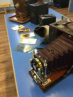 cameras in our primary school victorians history workshop
