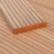 Bangkirai Yellow Ballau Terrassenholzdiele Kompiprofil