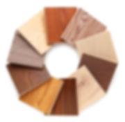 Parkettsanierung Muster farbige Oberflächen
