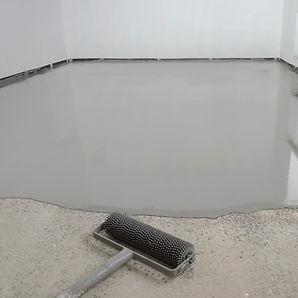 Unterbodenvorbereitung Nivelierung Spachtelmasse