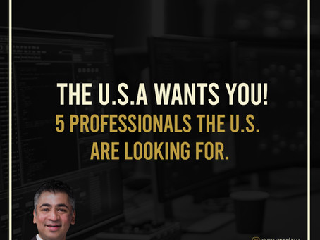 THE U.S.A WANTS YOU!