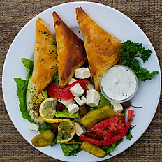SPANAKOPITA & GREEK SALAD