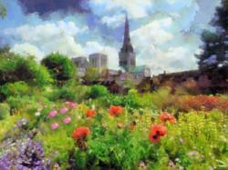 Bishops Palace Gardens Landscape