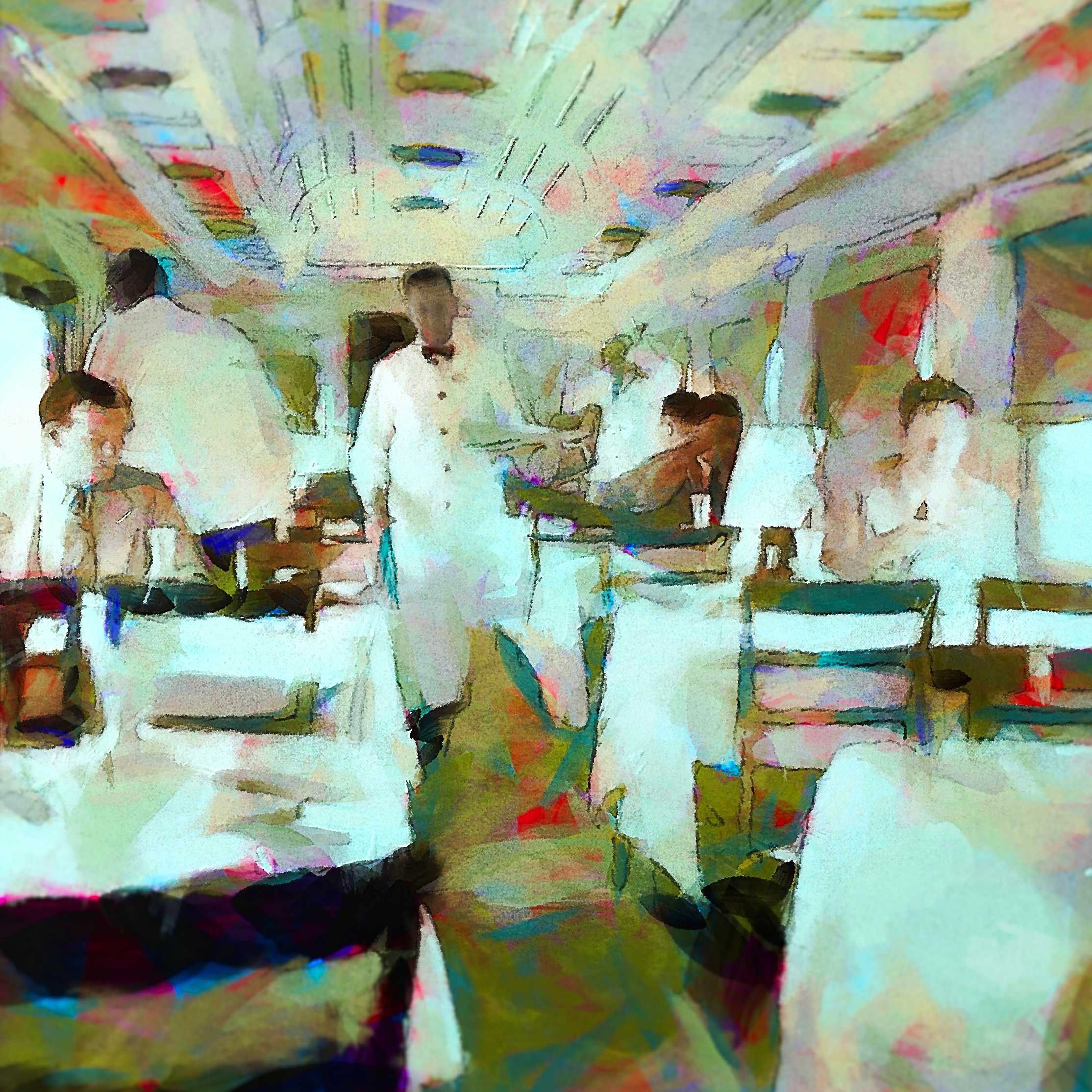 Railway Dining Car