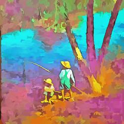 Fishing in the Bayou