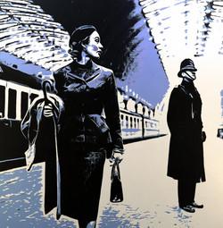 Lady at Padington Station