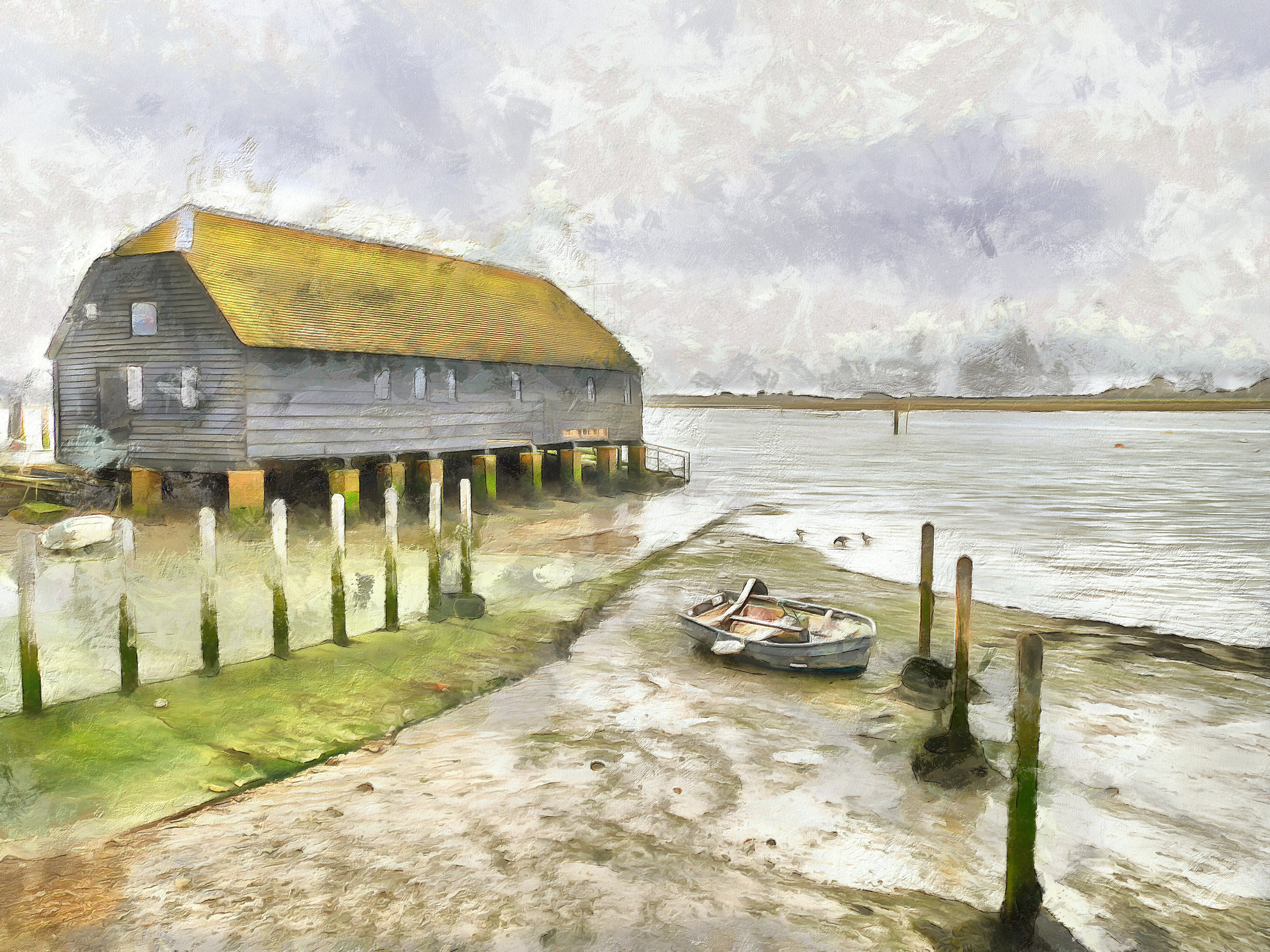 Bosham Quay Raptackle