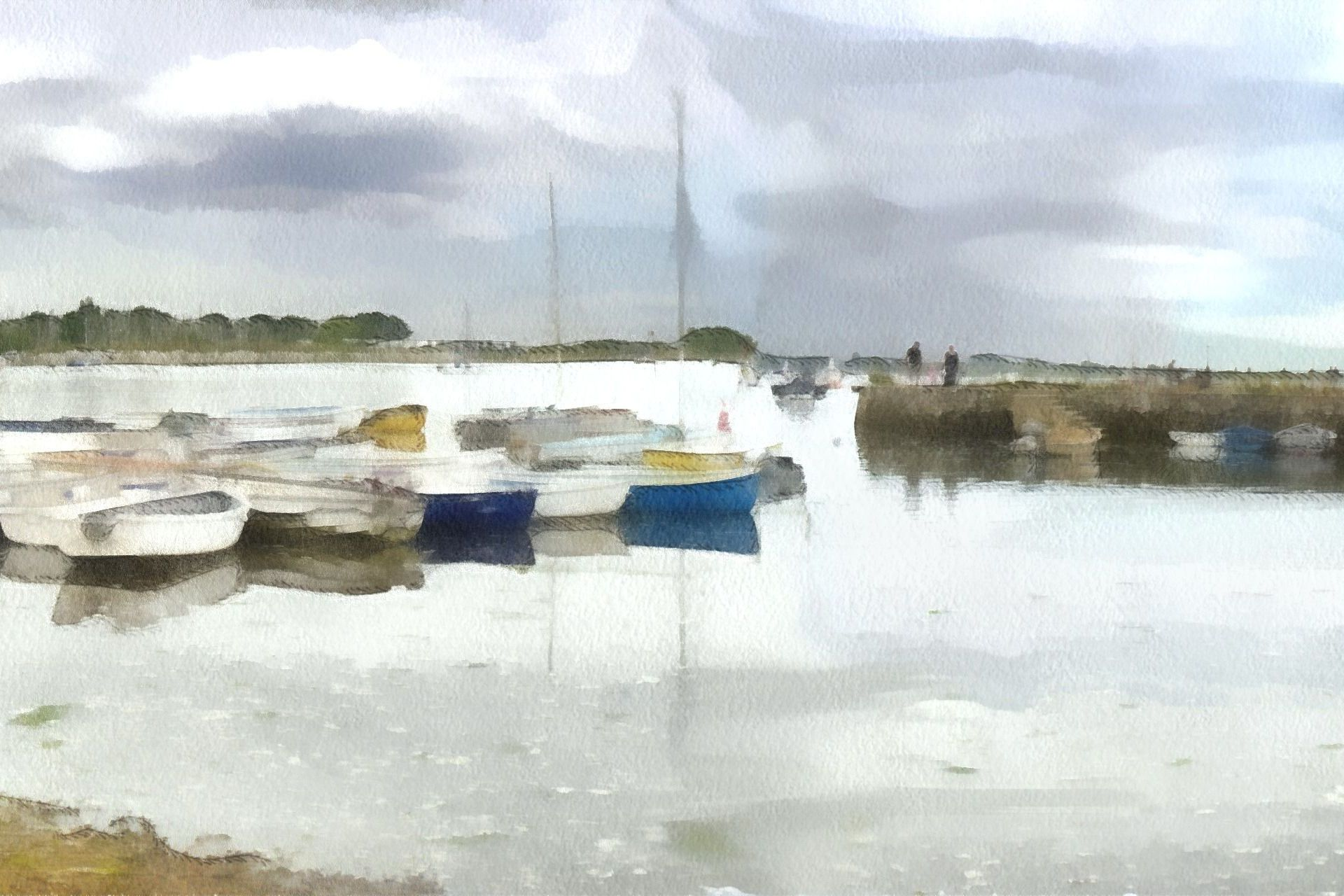 Emsworth Harbour 1