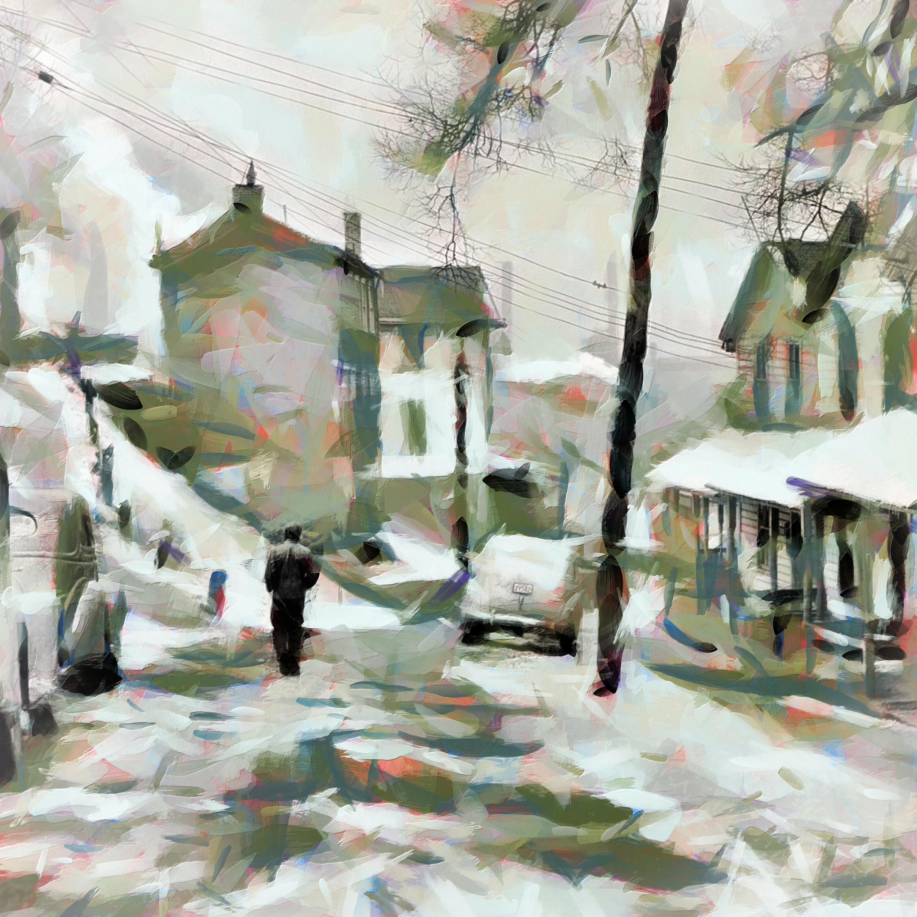 Street in Alquippa, Pennyslvania
