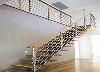 ss straight stairs wood handrail.jpg