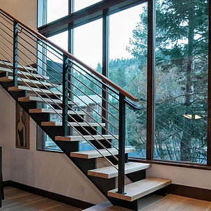 straight-stainless-steel-staircase-with-