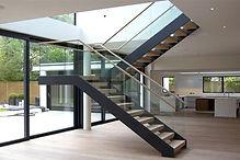 glass-railing-design-staircase-u shaped.