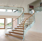 Tempered-Glass-Railing-Curved-Solid-Wood