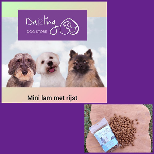 Darling mini lam met rijst 10 kg